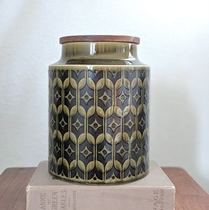 Mid Century Canister by Hornsea England Heirloom